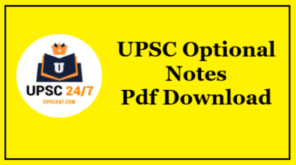 Chemistry Optional Notes Pdf Free Download Both Paper 1 & 2