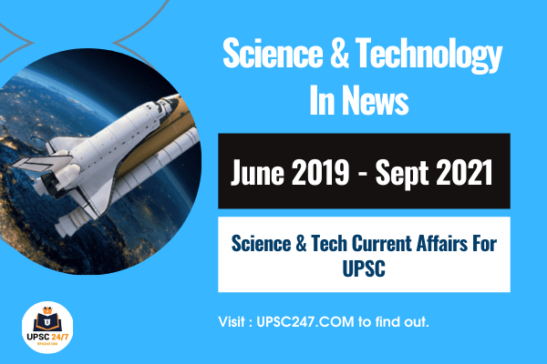 Science And Technology UPSC Pdf For 2021   Sci & Tech In News 2021